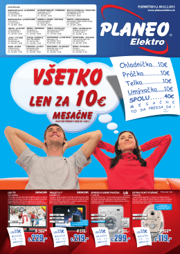 MESAČNE - Planeo Elektro
