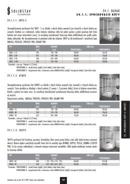 Sprchovacie kúty a vaničky