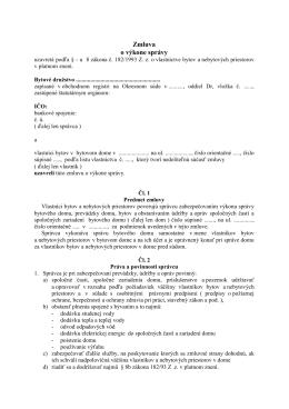 Zmluva o výkone správy-vzor a5
