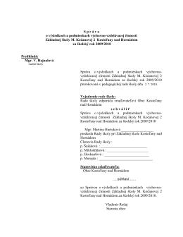 """čítaj viac...""""PDF"""" - Kostoľany nad Hornádom"""