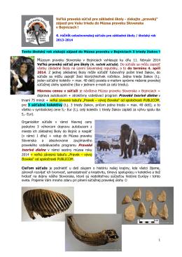 Praveké tvorivé dielne - Múzeum praveku Slovenska
