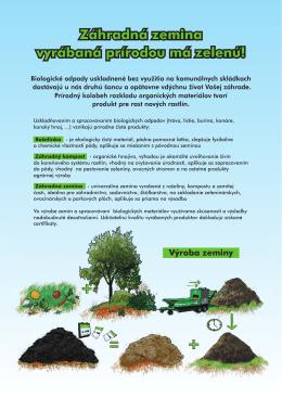 Záhradná zemina vyrábaná prírodou má zelenú! Výroba