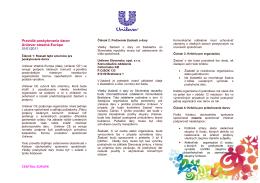 Pravidlá poskytovania darov - PDF | 100KB