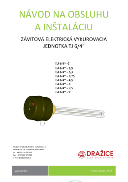 TJ 6/4 - DZ Dražice