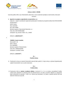 201406 - Agentúra na podporu regionálneho rozvoja Košice, no