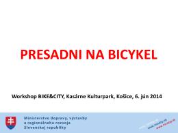 Presadni na bicykel