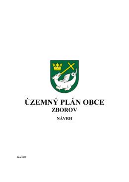 Územný plán obce Zborov