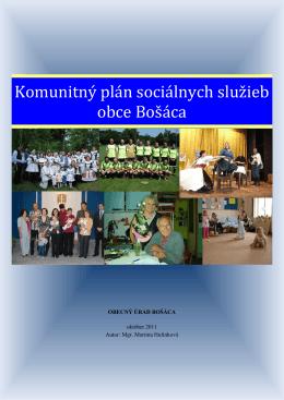 Komunitný plán sociálnych služieb obce Bošáca