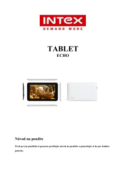 TABLET - dia-electronics.com