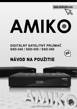 Amiko SK 540-550