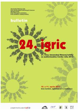 IGRIC 2013