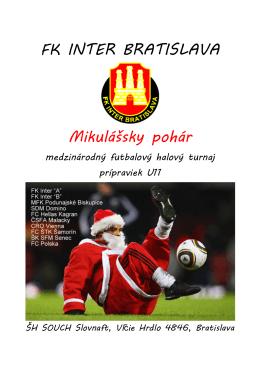 propozície - FK INTER BA 2003