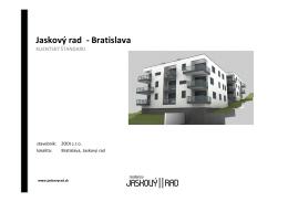 Jaskový rad - Bratislava