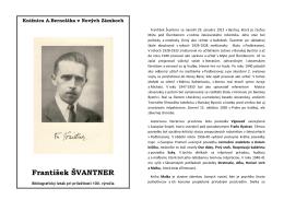 František Švantner(1912-1950), 2012