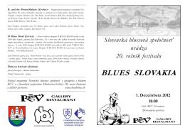 BLUES SLOVAKIA