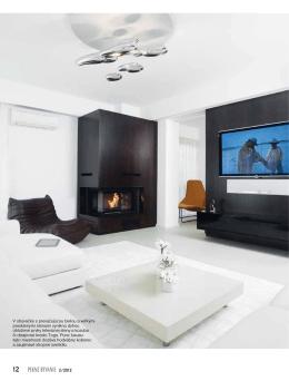 2/2012 V obývačke s prevažujúcou bielou a veľkými