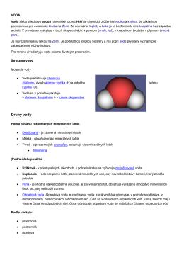 o vode z wikipedii