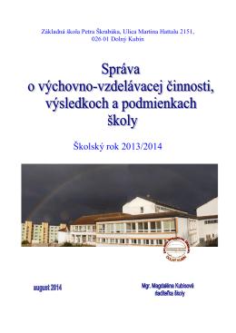Základná škola ,Ulica Martina Hattalu 2151,Dolný Kubín