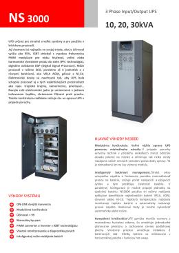 NS3000 - OK Servis SK sro