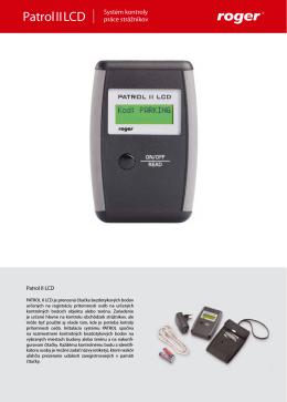 Patrol II LCD