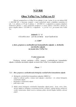 Dodatok k VZN - odpady - BRKO apríl 2013