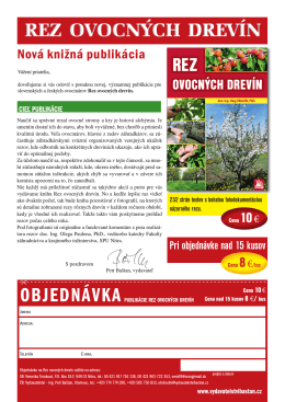 Nabídkový leták - Vydavatelství Baštan