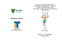 Propozície - UTV - Žilinská univerzita