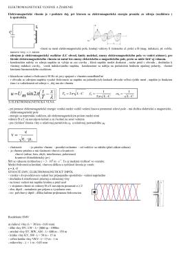 Požiadavky na skušku z fyziky 3.ročník
