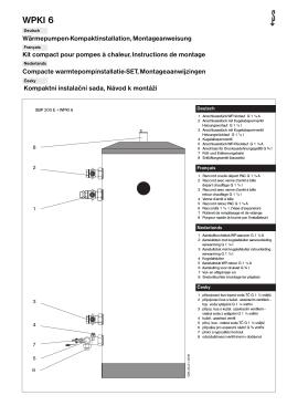 kompaktná inštalácia pre akumulačné zásobníky
