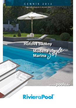 Hotové bazény Modena Marina