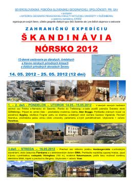 bližšie informácie s programom exkurzie (PDF)