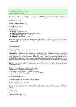 Krajina: Taliansko Destinácia (letovisko):