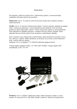 Návod pre eGo-C (PDF) - cigaretaelektronicka.sk