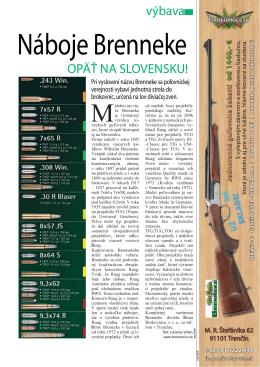 výbava OPÄŤ NA SLOVENSKU! - zbrane