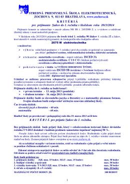 618303 Stredná priemyselná škola elektrotechnická, Zochova 9