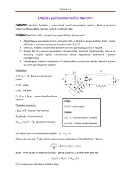 Z4-Otáčky jednosmerného motora