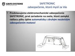 prezentácia safetronic ( pdf )