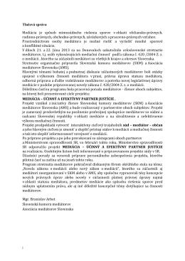 prílohe - Slovenská komora mediátorov