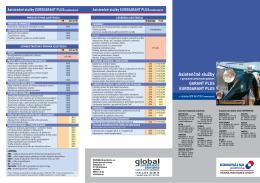 Rozsah asistenčných služieb PZP od 01. 05. 2013 leták