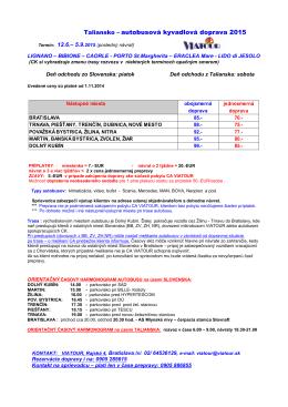 ceny bus 2015