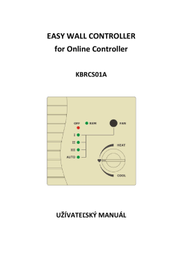 EASY WALL CONTROLLER for Online Controller