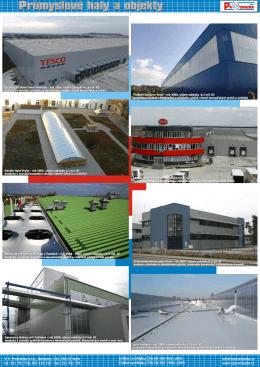Průmyslové haly a objekty