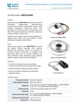 komunikačné zariadenia k statickým elektromerom