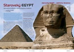 Staroveký EGYPT - Historická revue