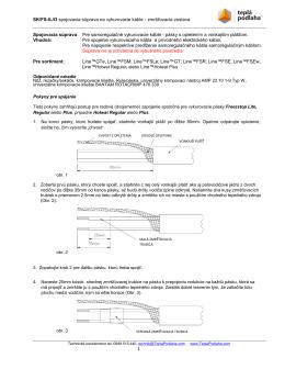 SK/FS-IL/O spojovacia súprava na vykurovacie káble