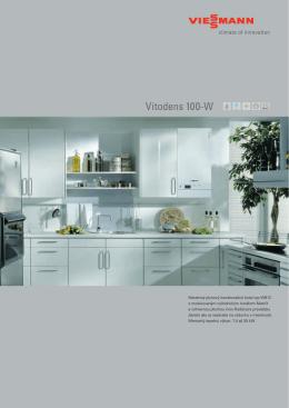 Vitodens 100-W - Kúrenie a ohrev vody