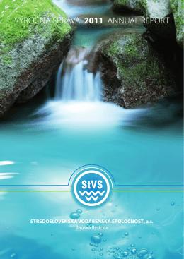 výročnú správu - Stredoslovenská vodárenská spoločnosť