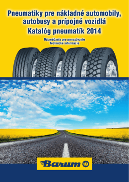 Barum Truck Tires 2014 (PDF 5,4 MB)