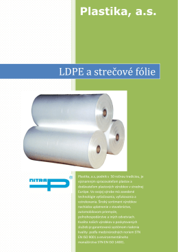 LDPE film products