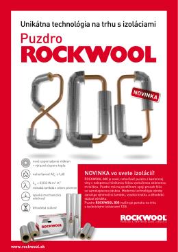 potrubné puzdro ROCKWOOL 800